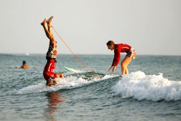 WildMex Surf School Sayulita Surfboard Tricks
