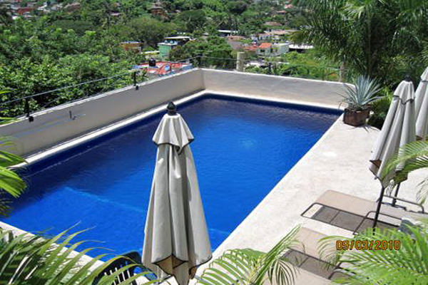 WildMex Surf Trips Sayulita Mexico Outdoor Roof Pool