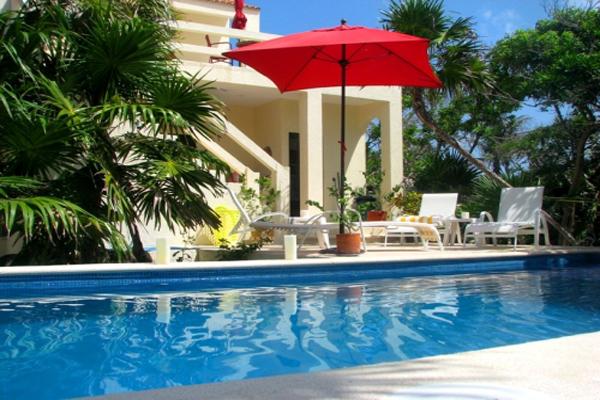 Casa Amor Del Sol B&B Tulum aera sparkling pool
