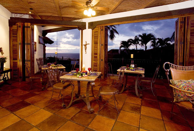 Casa Corona Vallarta Patio Dining