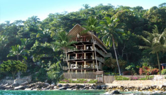 Casa Pericos, 'House of Parrots', Yelapa, Jalisco, Mexico