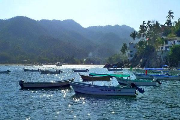 Casa Perico Yelapa Water Taxi Puerto Vallarta Pier