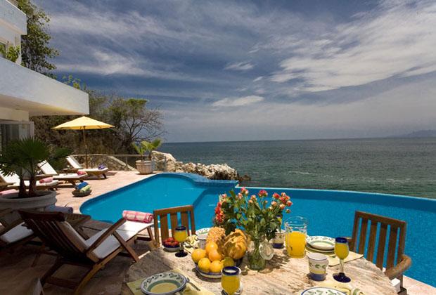 Casa Salinas II Luxury Villa Puerto Vallarta Ocean Poolside Gourmet dining