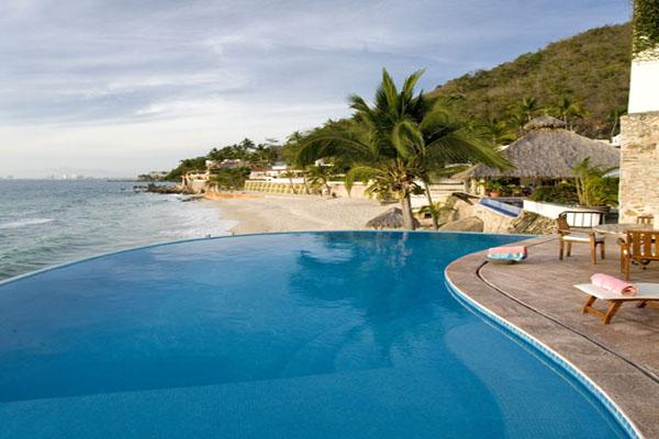 Casa Salinas II Luxury Villa Puerto Vallarta Oceanside Pool