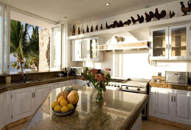 Casa Salinas II Luxury Villa Puerto Vallarta ocean view kitchen
