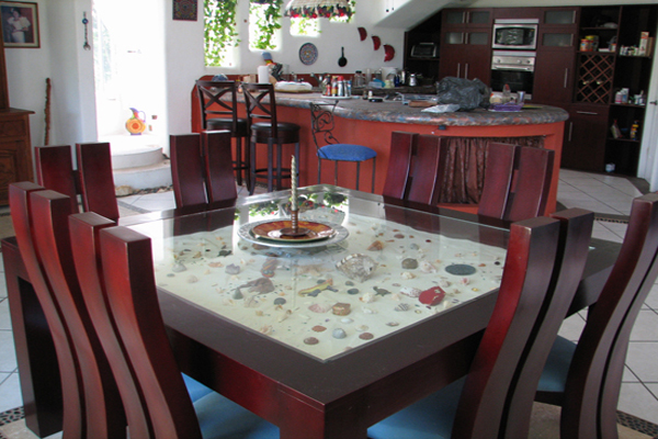 Casa las Mariposas Nuevo Vallarta Elegant Dining