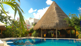 Don Diego de la Selva Hotel, Mexican Riviera, Tulum, Quintana Roo