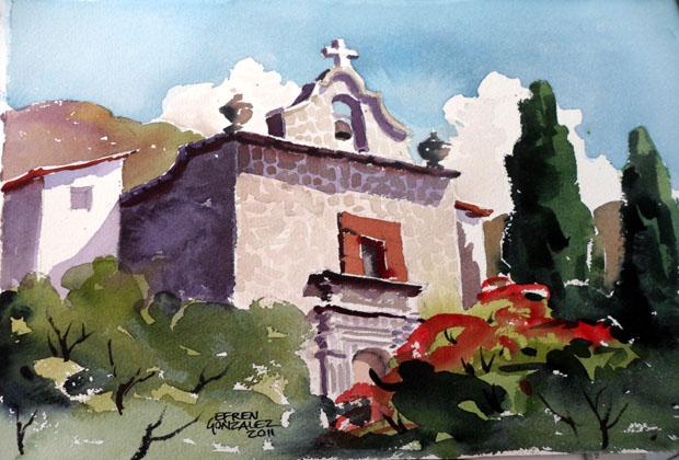 Efren Gonzalez Ajijic Mexico Artist Watercolorist