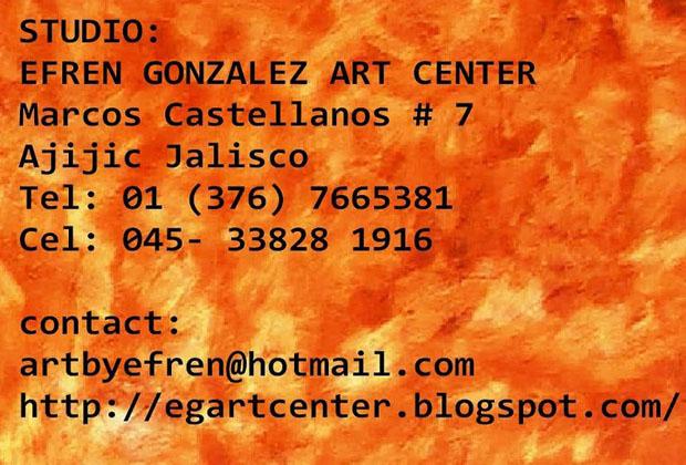 Efren Gonzalez - Artista Ajijic and Guadalajara Mexican Muralist