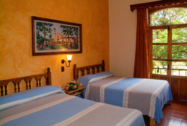 Gran Hotel Patzcuaro Michoacan Room with Portals & Garden View