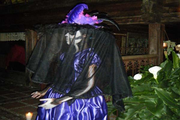Hotel Casa Ixhi, Patzcuaro Michoacan Feast of the Dead Celebrations