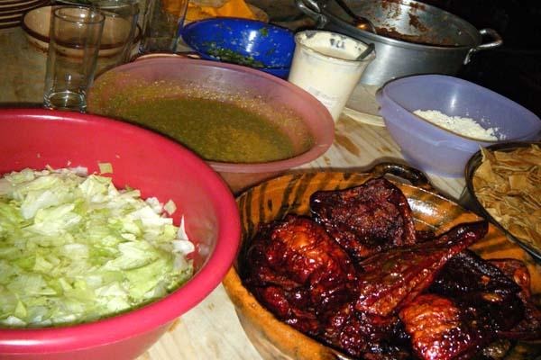 Hotel Casa Ixhi, Patzcuaro Michoacan Pre-Hispanic Cuisine