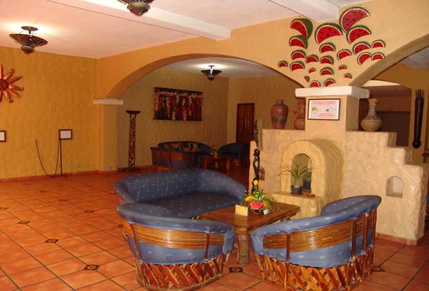 Hotel Hacienda del Sol Tonala Guadalajara Sandia Lounge Seating
