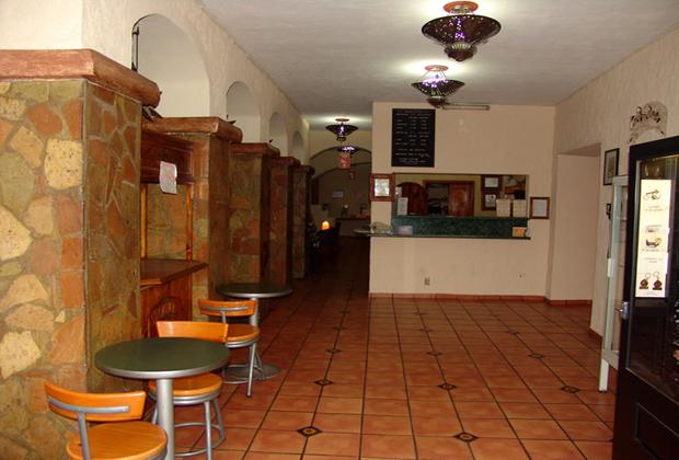 Hotel Hacienda del Sol Tonala Guadalajara Small Convenient Restaurant