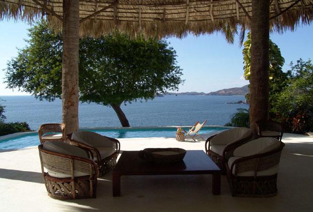 La Casa Del Sol Ixtapa Mexico Palapa Pool