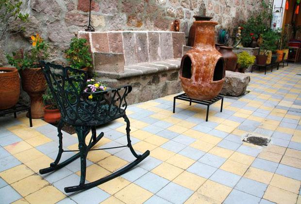 La Casona Rosa Morelia Michoacan Chimena Wrought Iron Furniture