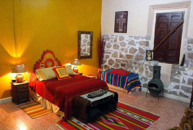 Casa Rosa Is A Traditional Old Mexico Style Bed And