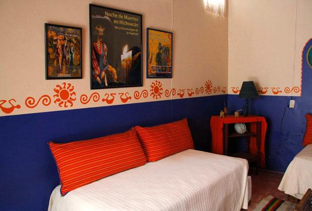 La Casona Rosa Morelia Michoacan Colorful Folk Art Romantic Ambiance