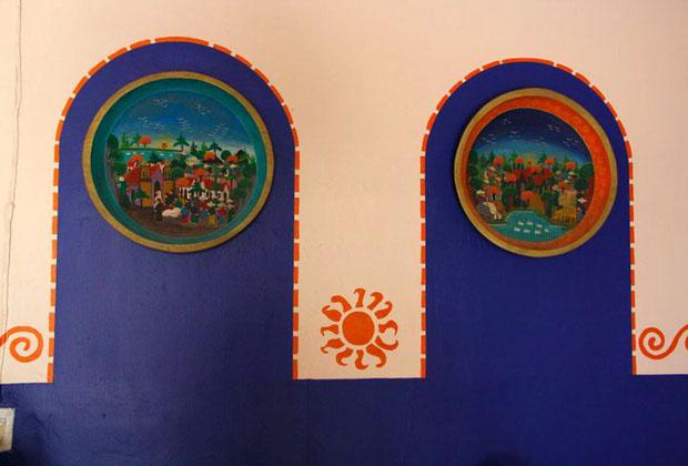 La Casona Rosa Morelia Michoacan Folk Art Paintings