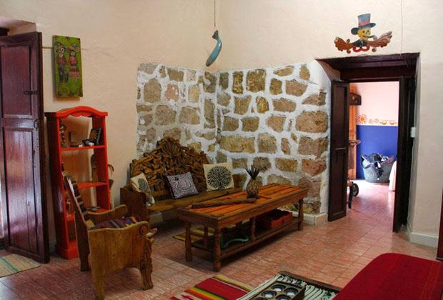 La Casona Rosa Morelia Michoacan Folk Art