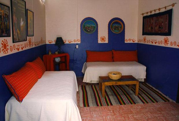 La Casona Rosa Morelia Michoacan Living Dining Room & Kitchen