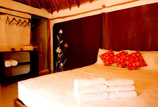 Secret Garden B&B - Tulum - Yucatan Peninsula orange cabana