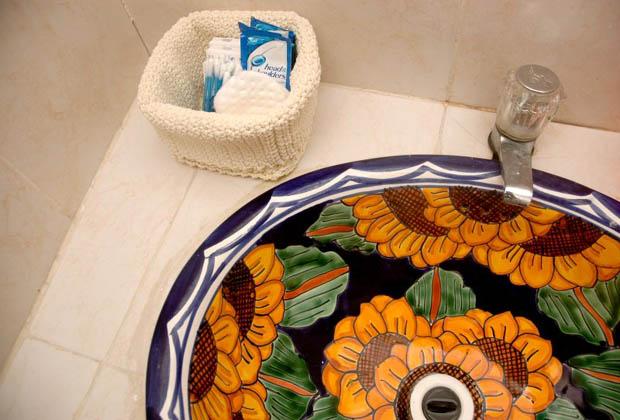 Secret Garden - Tulum - Quintana Talevera tile bathroom
