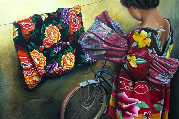 Cathy Chalvignac Artist Ajijic Gypsy Caravan