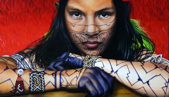 Cathy Chalvignac, Artist & Casa del Encanto Gypsy Caravan, Ajijic, Lake Chapala, Jalisco, Mexico