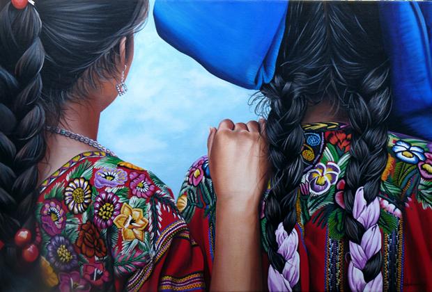 HERMANAS Cathy Chalvignac Ajijic Artist
