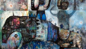 Jesse Reno, Artist, Hacienda Mosaico, Puerto Vallarta