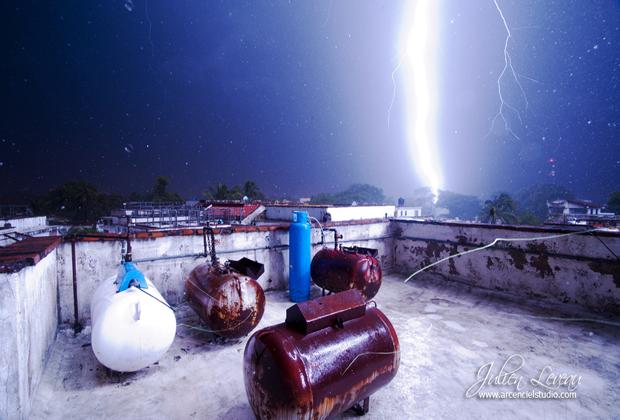 Julien Leveau Arcenciel Studio Vallarta Storm Lightning Photo Series