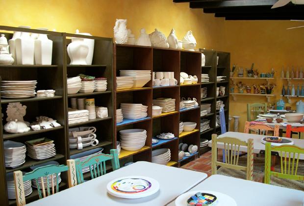 Los Mercados Zona Romantica Puerto Vallarta Pottery Lessons