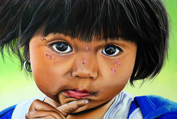 lupita.56x42-cms Cathy Chalvignac Ajijic Artist
