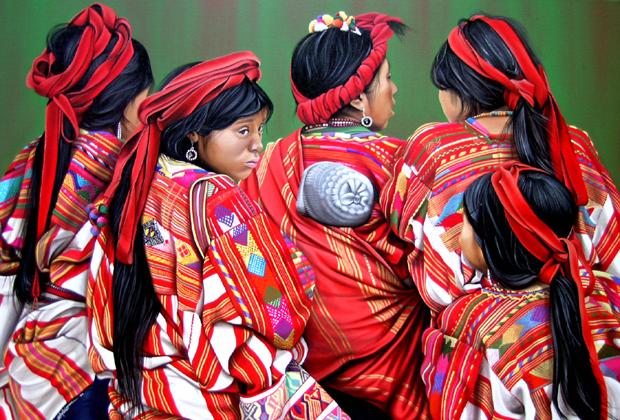 mujeres Cathy Chalvignac Artist Ajijic Lake Chapala