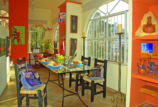 Casa de Los Arcos Mexico Art and Decor Old Vallarta Villa Rental