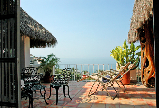 Casa de Los Arcos Private Oceanview Balcony Puerto Vallarta