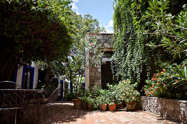 Casita de las Flores San Miguel Courtyard Hammock