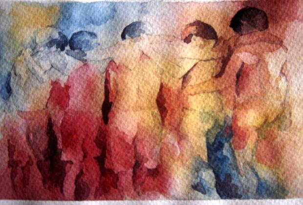 Felipe Bernal Mexican Watercolorist Artist Plastico Guadalajara