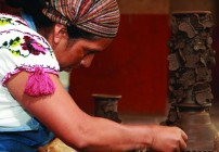 Herlinda Morelos lead-free pottery michoacan mexico