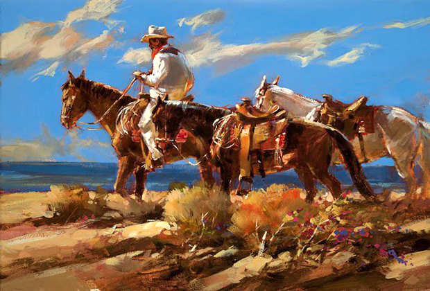 Brent Heighton Almost Home Golden Cactus Gallery Cabo