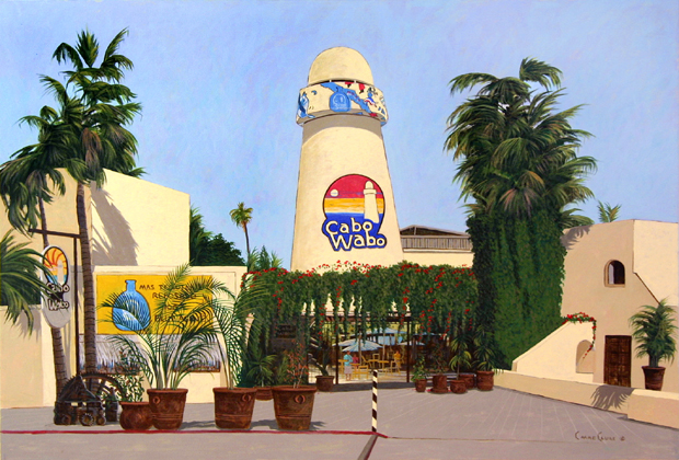 CABO WABO Chris MacClure Baja Peninsula Fine Art