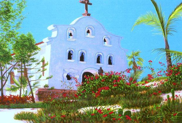 Chapel At Palmilla Chris Macclure Fine Artist Cabo Baja California