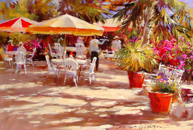 El Cafe Brent Heighton Artist Cabo San Lucas