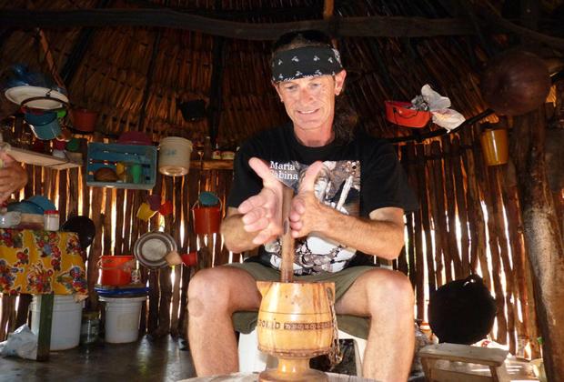 Genesis Ek Balam Eco-Cultural Mayan Retreat Making Tortillas