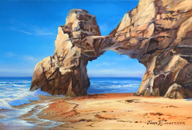 Jonn Einerssen Artist - Arch Cabo San Lucas Mexico