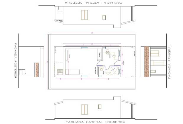 Luz de Compasion Retreat Home Plan Durango Mexico
