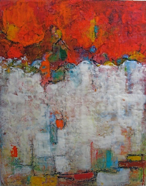 Ezshwan Winding, Encaustic Artist, San Miguel de Allende, Mexico