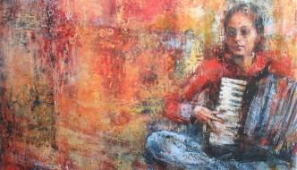 Ezshwan Winding, Encaustic Artist, San Miguel de Allende, Guanajuato, Mexico