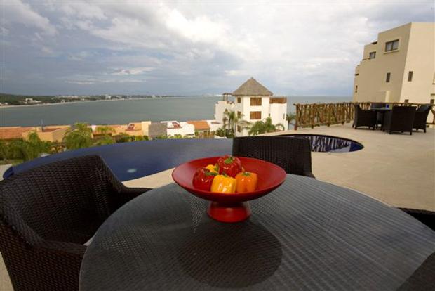 Punta Esmeralda Oceanview Patio Riviera Nayarit Mexico